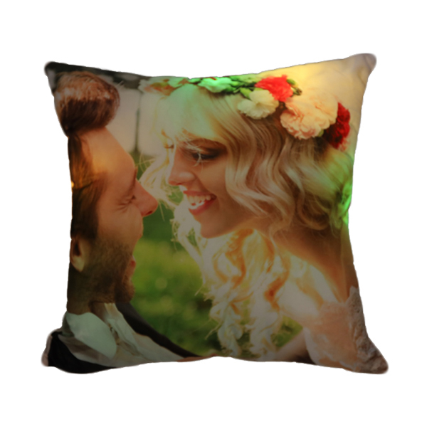 LED Lights Luminous Pillow Photo Custom Creative Cushions